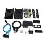 Banana Pi + case + heatsink + sata cable (nas) + power supply -Raspberry pi alternative - £45.19 @ DX