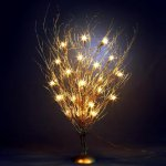 Light Up LED Tree choice of 3 colours for £5.99 @ Dunelm click and collect