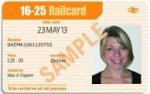 3 year railcard £5 off now £70