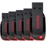 SanDisk 8GB Cruzer Blade USB Flash Drive - FIVE PACK - £12.82 delivered @ Gizzmo Heaven (use gizzmo5 code)