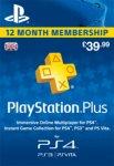 Playstation Plus 1 year subscription - £34.85 with code @ ShopTo / rakuten
