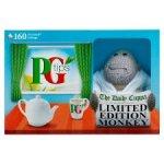 PG TIPS 160 TEABAG BOX + LIMITED EDITION MONKEY £2.50 @ Tesco instore