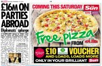 Free Papa Johns Pizza, £10 Morrison Voucher (Sun+ Membership required) this Saturday