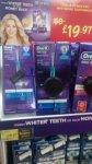 Oral b power pro 600 whitening toothbrush £19.97 @ Asda Living