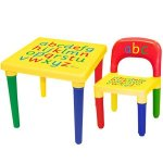 IT'S back in stock - Alphabet Table & Chair Set @ Home Bargains - £11.99