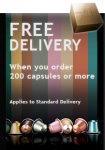 Free delivery from nespresso with new variations (only need to buy 50 and not 200 capsules)