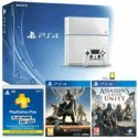 Playstation 4 (white or black) + Assassin's Creed: Unity Revolution Edition + Destiny w/ Vanguard & PsPlus 12 months £399.99 @ GAME
