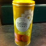 Cookies in gift tin various flavours 180g only 99p @ b&m