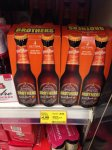 Brothers Toffee Apple Cider - £4.99 for pack of 4 (275ml - £4.54 a litre) or 2 for £8 @ Tesco INSTORE or 3 for £5 (500ml - £3.33 a litre) ONLINE