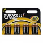 8pk of Duracell Plus Power AA or AAA for £3.57 at Wilko (Wilkinson)