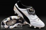 puma - King Finale i FG Jnr Boots - White/Black/Team Gold £15 plus £3.95 P&P @ pro direct soccer