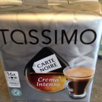 Tassimo Crema Intenso coffee pods £3.11 in store at Morrisons