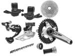 Shimano SLX M675 2 x 10 speed transmission groupset + 3.15% TCB £169.99 @ merlincycles