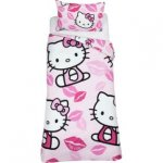Hello Kitty Kiss Bedding Set - Single, £8.82 each Or £13.23 for 2 Sets, R&C @ Argos