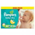 Pampers Giga Packs Half Price to Clear instore at Asda £9 each