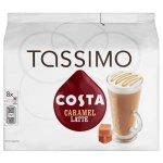 Tassimo Costa Caramel Latte 16 discs, 8 servings (Pack of 5, Total 80 discs, 40 servings) £16.65 @ Amazon