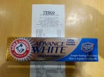 Arm & Hammer Advance White Toothpaste - 75p reduced from £3 at Tesco, Madeley nr Telford