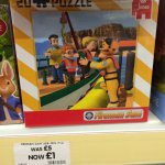Fireman Sam Mini Puzzle £1 the entertainer