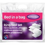Extremely Cheap - 2x 13.5 tog Kingsize duvets, 2x matress protector, 4x pillow and pillow protectors £24.98 @ Argos