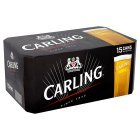 Carling Lager/Cider (INCLUDES NOW TV 24HR SKY SPORTS PASS)- Fosters Lager - Strongbow Cider - 15 x 440ml cans - 3 for £24 - Sainsburys - Also Mix 'N Match with MANY other cans/bottles - Instore and online