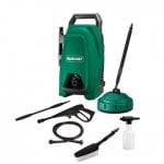 UPDATE! Back Friday Price £44.93 Qualcast 1400W Pressure Washer + Patio cleaner + Car Wash Brush + Detergent Bottle + 5m Hose + Gun & Lance £44.93 @ HOMEBASE (click & collect or home delivery)