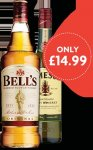 Bells Original Blended Scotch Whiskey 1LTR @ NISA now only £14.99!