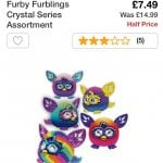 Furby Furblings Crystal Series £7.49 @ Argos
