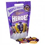 Heroes refill pouch 550g £3.00 at ASDA