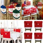 Set of 4 christmas chair covers £7.99 @  pink_and_blue_gifts1 / EBAY
