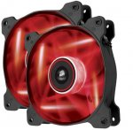 Corsair AF120-Red Led (Dual Pack) case fan £13 @ amazon (Purple led £12.50 dispatched within 1 to 2 mths  - See Other Sellers on Amazon)