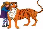 The Tiger Who Came To Tea Calendar £1 at Poundland