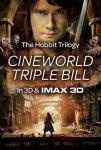 The Hobbit Trilogy 3D Triple Bill @ Cineworld From Just £14