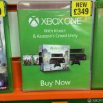 Xbox one with kinect, assassins creed unity & black flag £349 @ Grainger Games