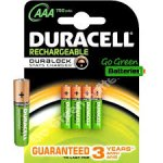 Duracell Rechargeable Accu  AAA Batteries - 4-Pack @ Amazon £4.72  FREE UK delivery sold by Simply Direct ltd