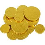 Free Gold Milk Chocolate Coins at WHSmith - O2 Priority
