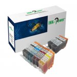 10 Compatible PGI / CLI Ink Cartridges for Canon Pixma Printers £2.99 delivered @ eBay Ink-Power