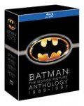 Batman - The Motion Picture Anthology 1989 - 1997 (Blu-ray) £7.99 delivered @ Amazon (Lightning Deals)
