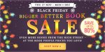 Black Friday book sale at the Book People