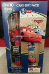 Oral-B cars gift pack: Electric Toothbrush & tooth paste £10 instore at Asda