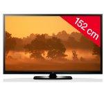 LG 60PB5600 - Plasma - HD TV 1080p, 60 inch (152 cm) 16/9, 600Hz, Freeview (DVB-T), Cable (DVB-C), HDMI, USB 2.0 £549 @ Pixmania