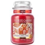 30% Off & Free Delivery @ The Brilliant Gift Shop Large Yankee Candle Jar Candy Cane Lane £11.20 delivered