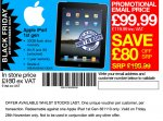 32gb IPAD with 3g (1st Gen) £119.99 @ JTF instore