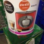 Krups coffee machine £29.50 @ Tesco instore