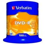 Verbatim 16x Speed DVD R 100 Pack £13.99 @ Maplin