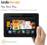 "Kindle Fire HDX Tablet 7"" 16GB with 4G/3G £119 @ Amazon"