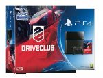 PS4 Driveclub bundle, (GAME) The Last Of Us, 12m Playstation Plus membership and choice of Watchdogs or Destiny