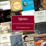 (Free classical album) Hyperion monthly sampler – December 2014