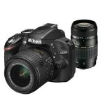 Nikon D3200 DSLR with 18-55mm VRII lens and Tamron 70-300mm lens, nikon bag and spare battery £329 @ Jessops £309 after nikon cashback