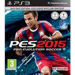 Pro Evolution Soccer 2015 - Day One Edition - PS3 now only £20 @ Tesco Direct