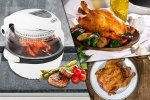 Wowcher 11 Litre Air Fryer with Rotisserie Fuction   £69 +£8.99 postage.  - £77.99